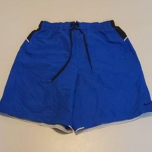 NIKE Shorts Size Medium Blue and Black
